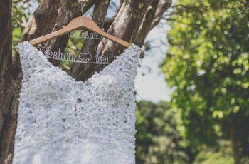 Acidentes mais comuns com o vestido de noiva e como consertá-los a tempo