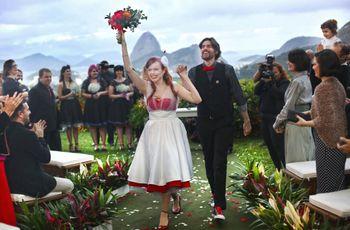 O casamento de Ana e Ricardo, muita originalidade e surpresas