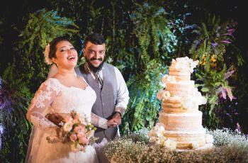 O casamento de Flávia e Gabriel: um conto de fadas moderno