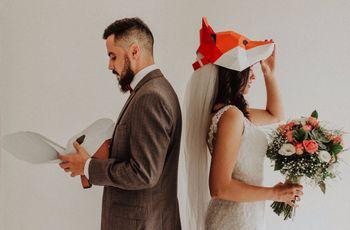 O casamento de Vivian e Matheus: originalidade e amor