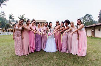 E se as madrinhas se negam a vestir o que a noiva pede?