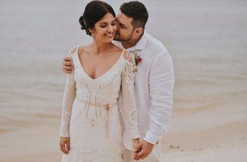 O casamento de Liza e Afonso: surpresas do amor