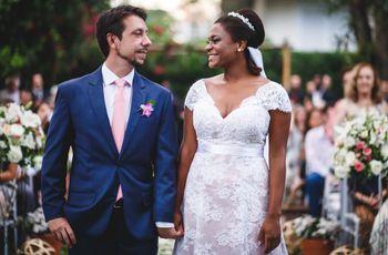 O casamento de Fernanda e Gustavo: ar campestre e romantismo