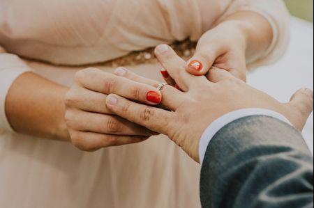5 Ideias encantadoras para as unhas da noiva