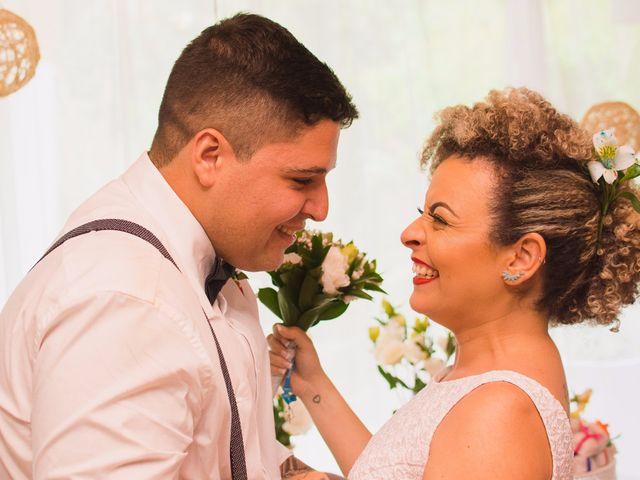 O casamento de Candida e Feliphe: romance que nasceu do samba