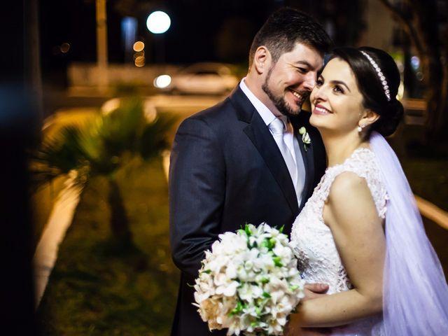 O casamento de Luana e André: amor do colégio ao altar