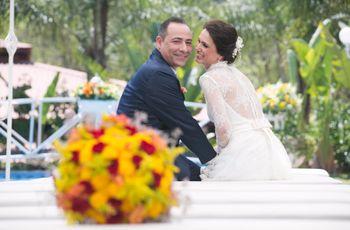 O casamento de Priscilla e Jaitom: combinação perfeita em família