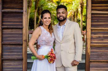 O casamento de Talita e Cezar: amor concretizado em família