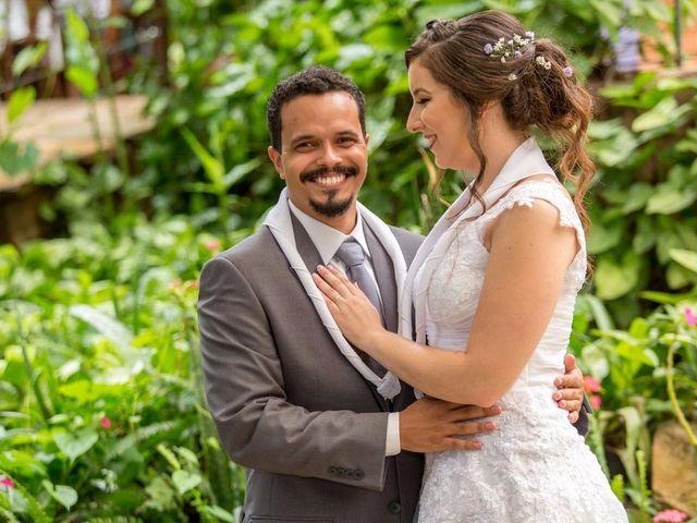 O casamento de Laís e David: de escoteiros a marido e mulher