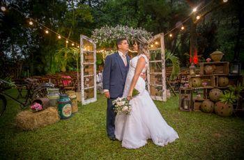 O casamento de Juliane e Thiago: feitos um para o outro