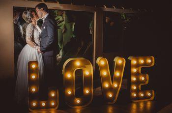 O casamento de Amanda e Rayner: um amor escrito nas estrelas
