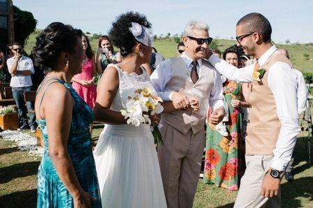Diferen�a entre padrinhos e testemunhas em um casamento religioso