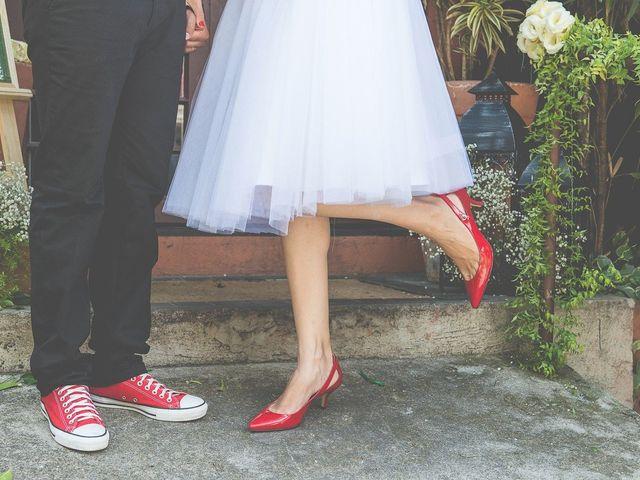 Sapato vermelho para noivas