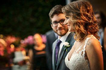 O casamento de Amanda e Matheus: cerimônia única e vista privilegiada