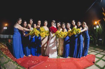 Diferenças entre dama de honra e florista