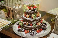 Regras de etiqueta para o bolo de casamento