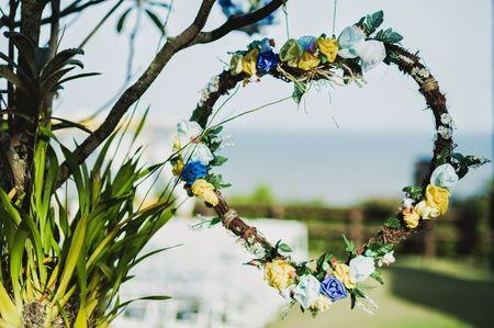 Decore seu casamento com um arco de flores