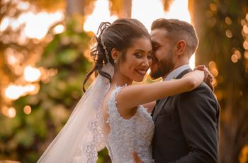 "O casamento de Thais e Eduardo: da amizade virtual ao ""sim"""