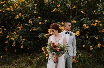O casamento de Yasmin e Eloy: amor de adolescência que chegou ao altar
