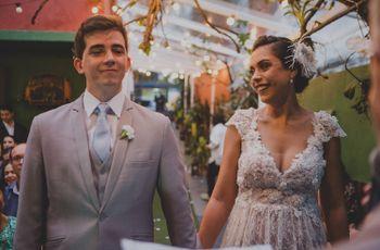 O casamento de Juliana e Caio: um pedido especial na cidade Luz