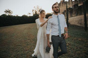 O casamento de Martha e Oscar: os contos de fadas existem