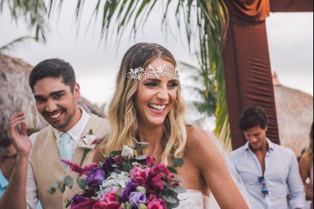 O Casamento de Beatriz e Diego: um destination wedding diante do mar