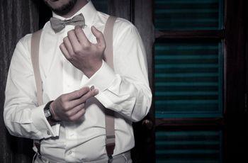 Abotoadura para os noivos: como escolher a ideal