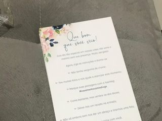 Folha de Outono Convites Personalizados 4