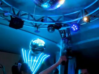 Robô de LED Tático 5