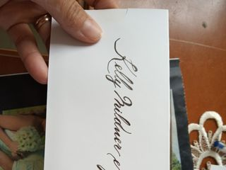 Caligrafia de Convites 1