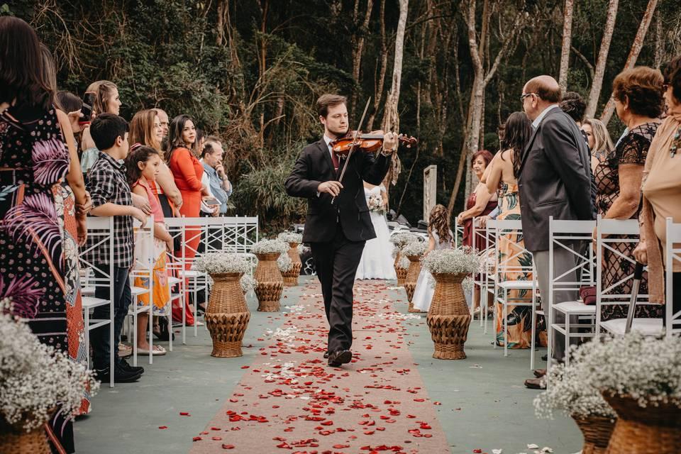 Violinista Isaac Cainã 20