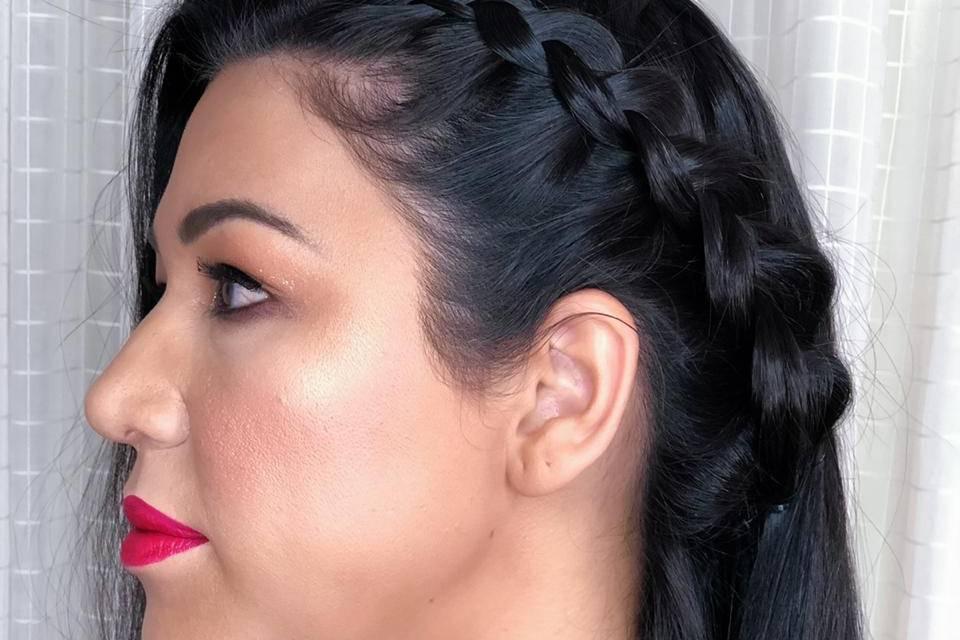 Tassyla Silva Hair Makeup 5