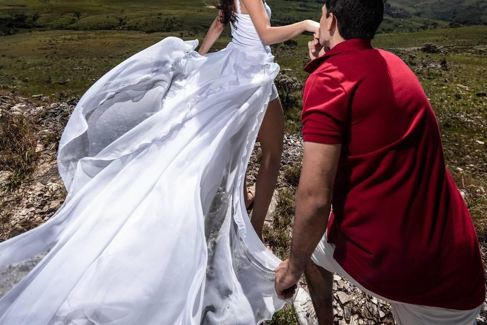 Véu & Gravata Wedding 1