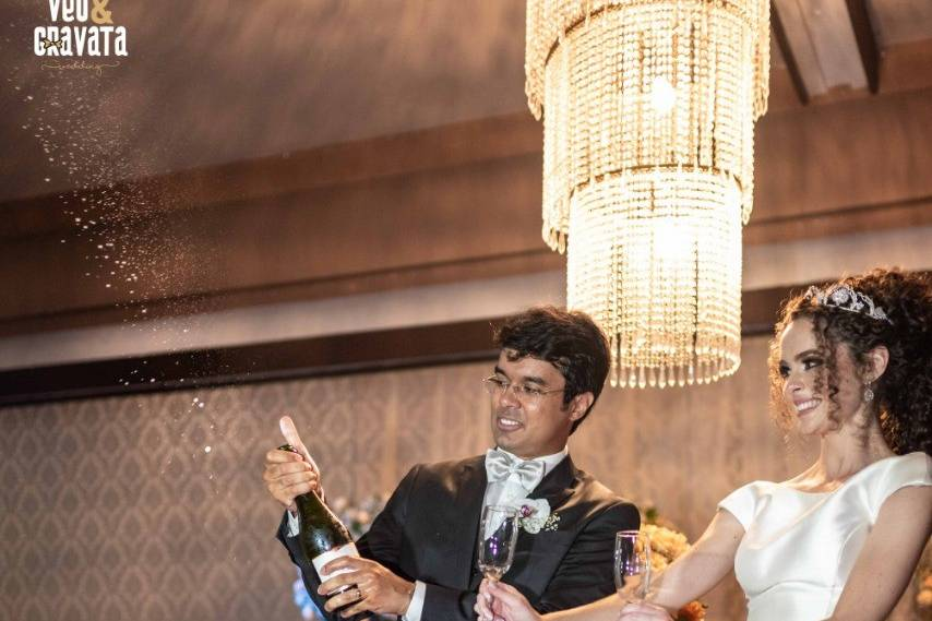 Véu & Gravata Wedding 6
