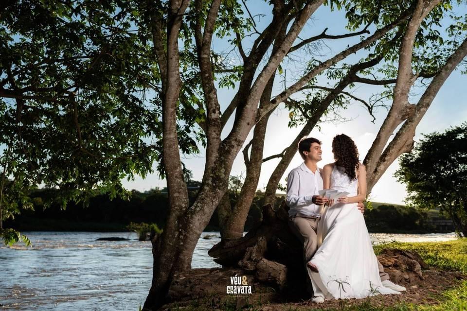Véu & Gravata Wedding 7