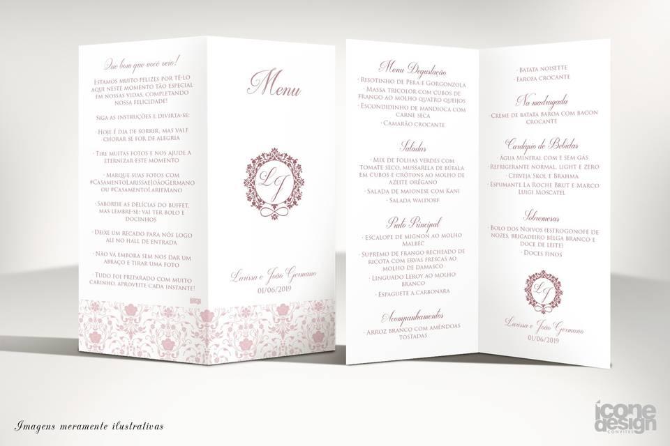 Ícone Design Convites 1