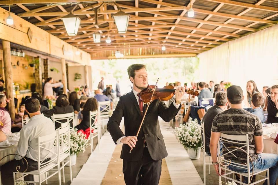 Violinista Isaac Cainã 12