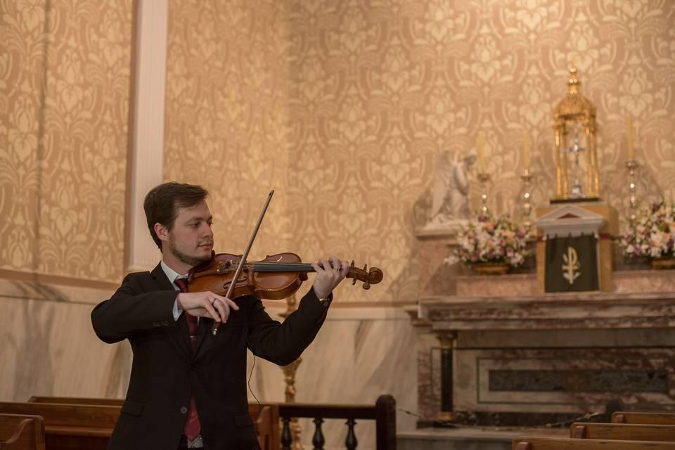 Violinista Isaac Cainã 16