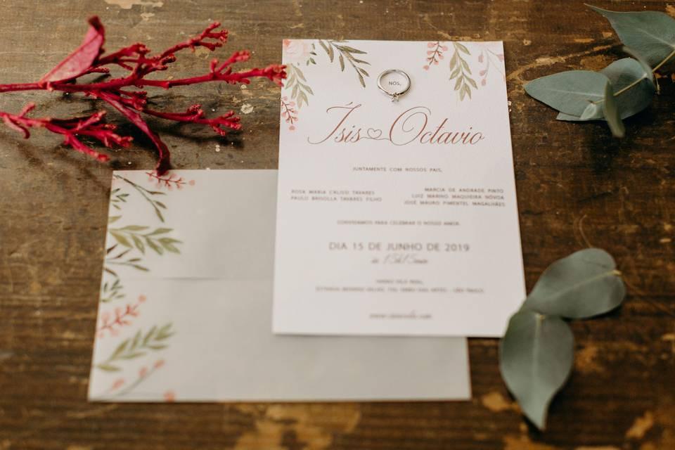 Convites Papercut 5
