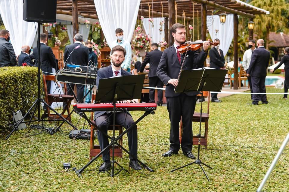 Violinista Isaac Cainã 4