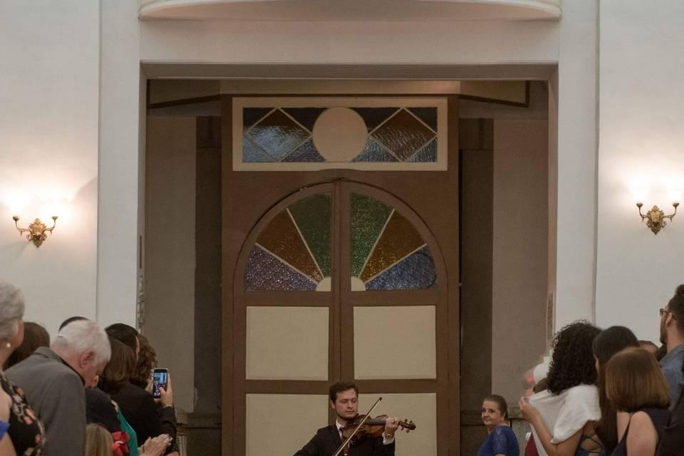 Violinista Isaac Cainã 14