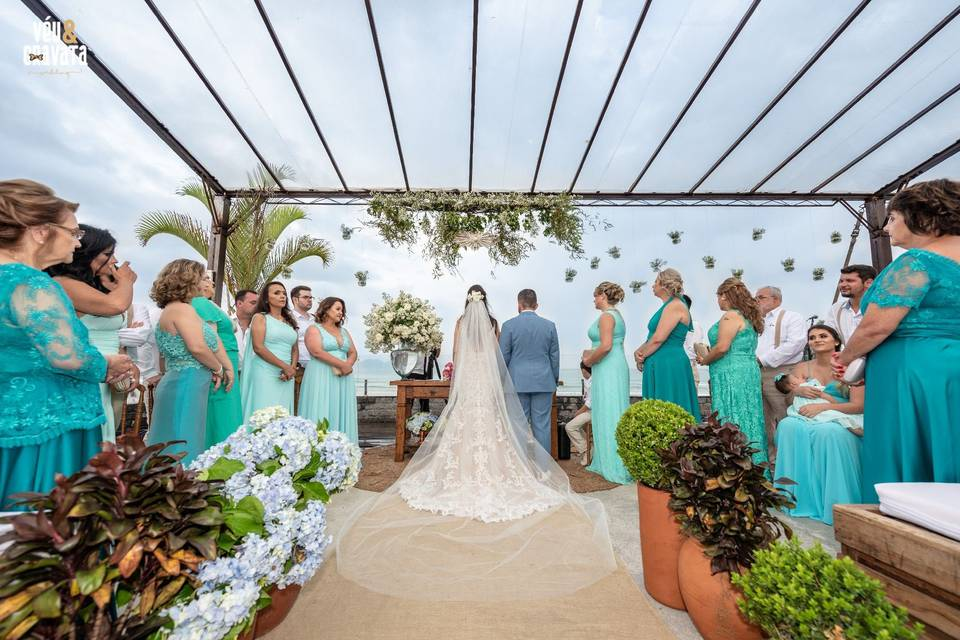 Véu & Gravata Wedding 18