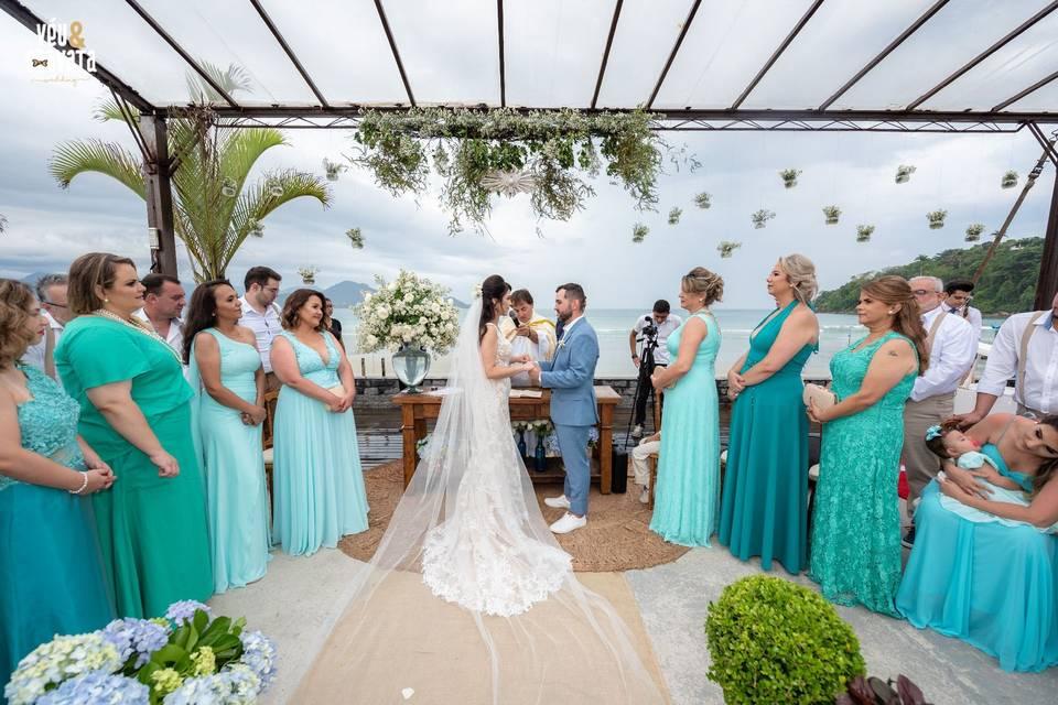 Véu & Gravata Wedding 19