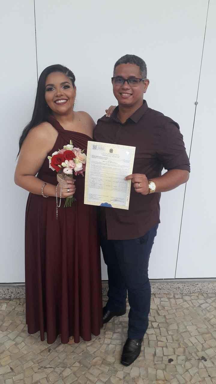 Casamento Civil com recepção em casa - 1