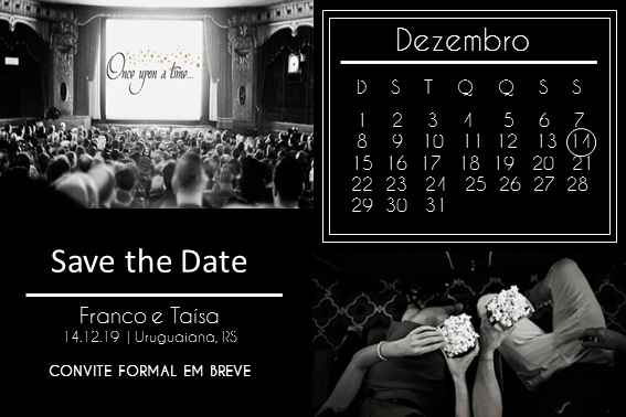 Meu save the date