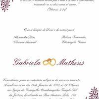 Convite casamento - 2