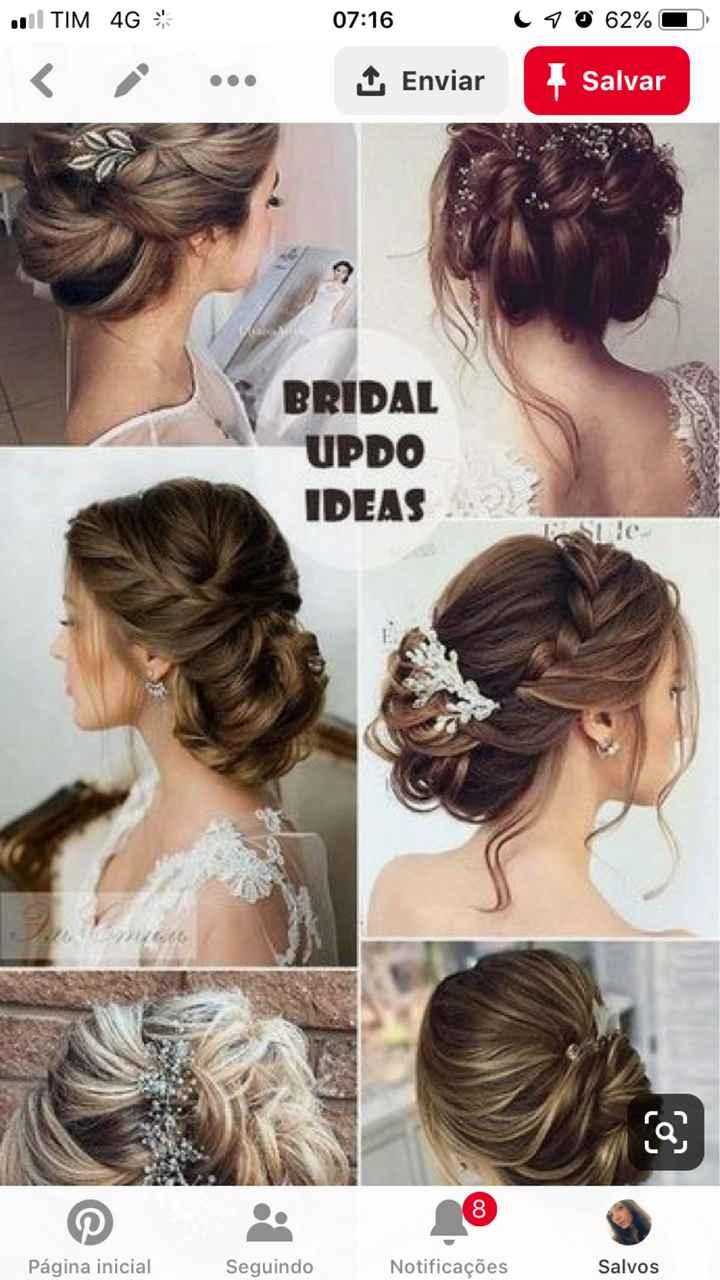Inspiração penteado - 1