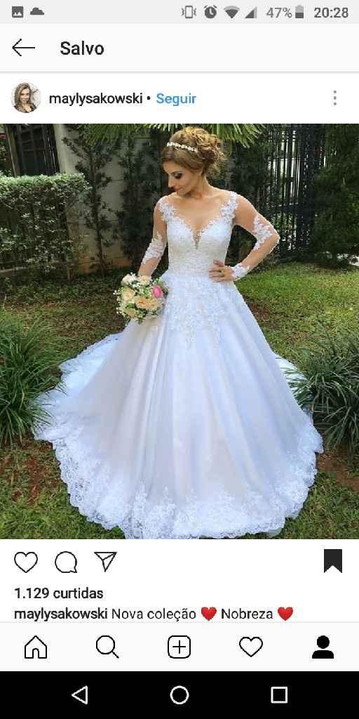 Quando posso escolher o vestido? - 3