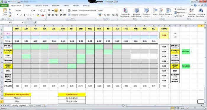 Planilha Completa | Dicas de Organização 1