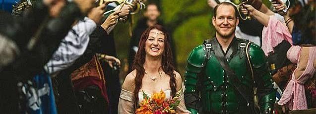 Matrimonio Tema Game Of Thrones : Casamento medieval página
